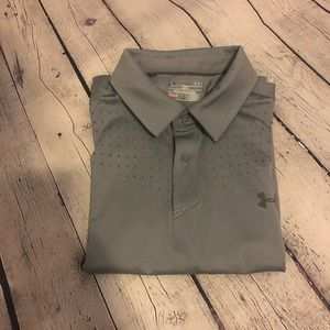 Hurley men's size large grey golf shirt
